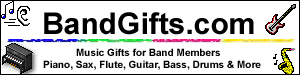 Music Gifts for Band!