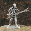 Skeleton Guitar Player Figurine